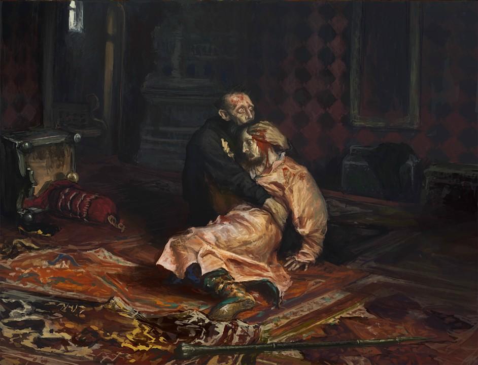 Картина Иван Грозный и сын его Иван 16 ноября 1581