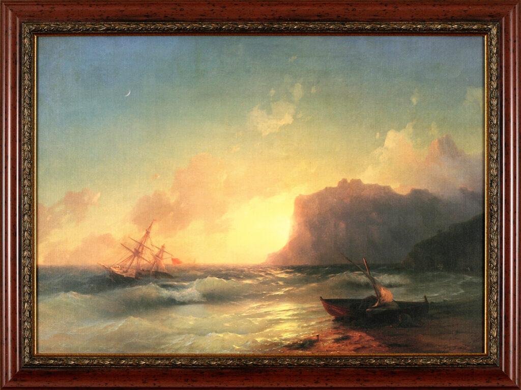 Сочинение по картине И. К. Айвазовского «Море. Коктебельская бухта»