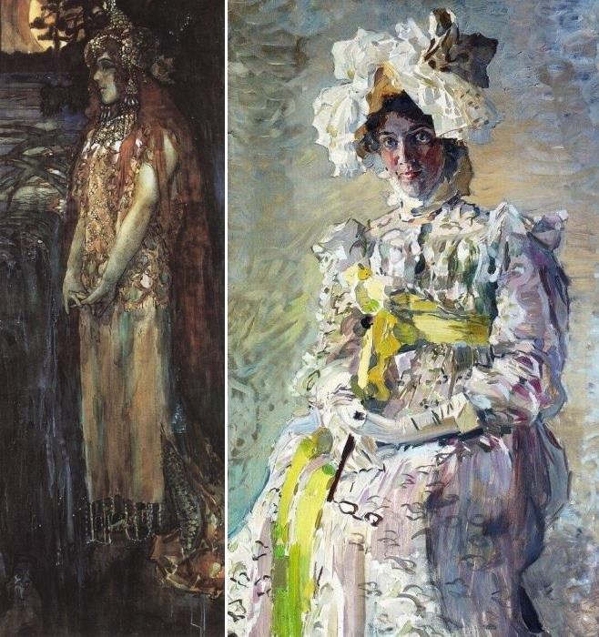 Портрет артистки Н. И. Забелы-Врубель