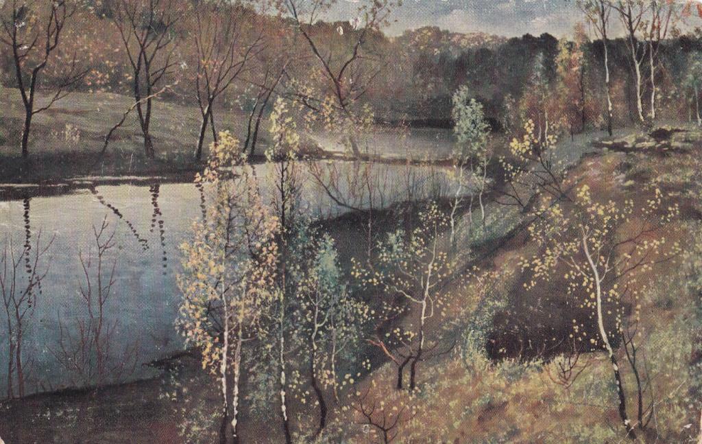 Сочинение по картине И. С. Остроухова «Первая зелень»