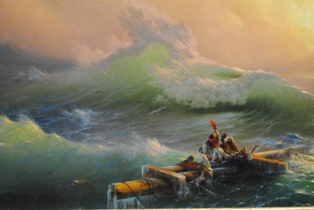 «Девятый вал» И. Айвазовского. Обзор картины
