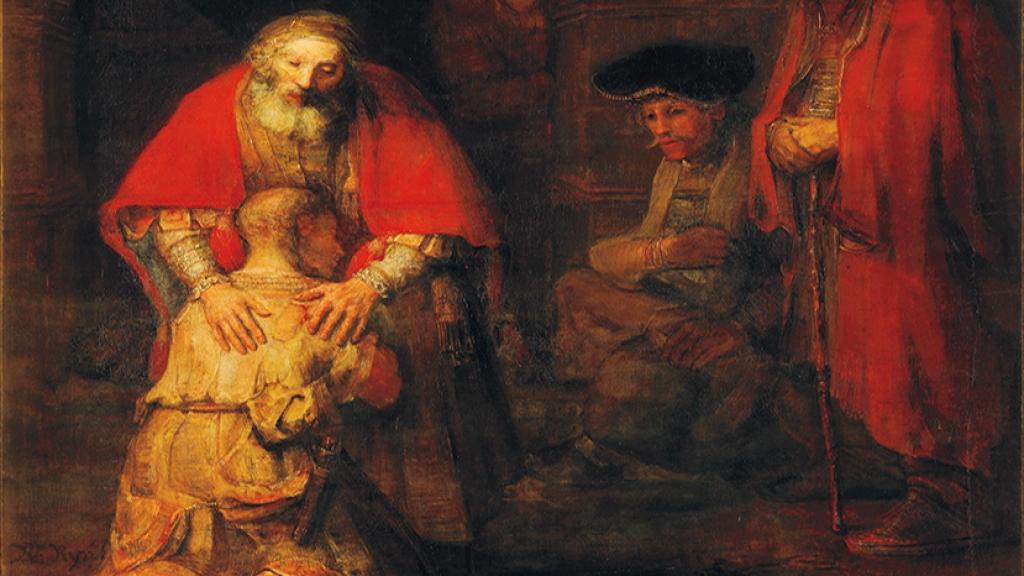 Картина «Возвращение блудного сына» Рембрандта