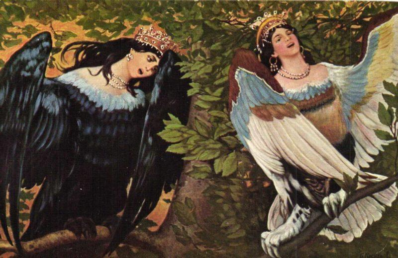 Сочинение по картине В. М. Васнецова «Сирин и Алконост. Песнь радости и печали»