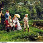 Сочинение по картине В. Е. Маковского «В жаркий день»