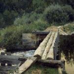 Левитан И. Картина У омута