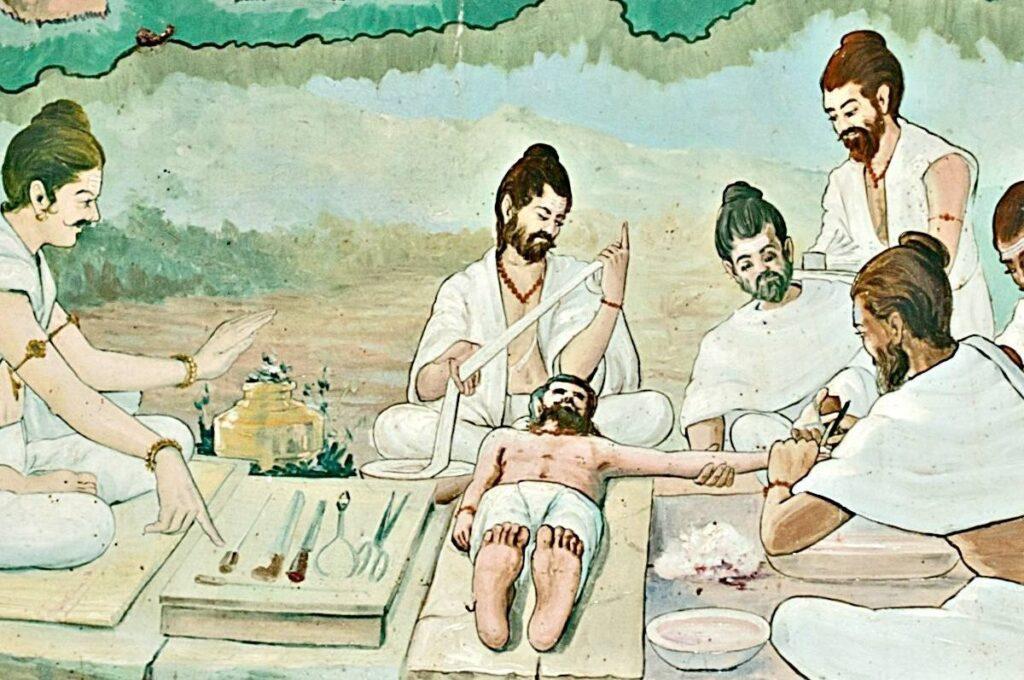 Первое появление медицины