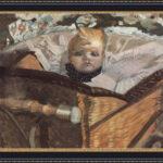 Михаил Врубель. Портрет сына художника