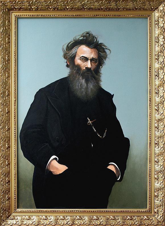 Портрет художника Ивана Шишкина