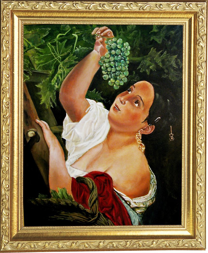 Картина Итальянский полдень. К. Брюллов