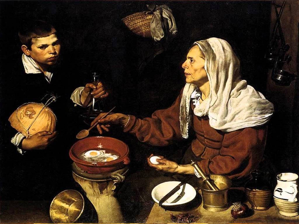 Картина «Старая кухарка»