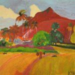 Сочинение по картине «Горы на Таити Поля Гогена»