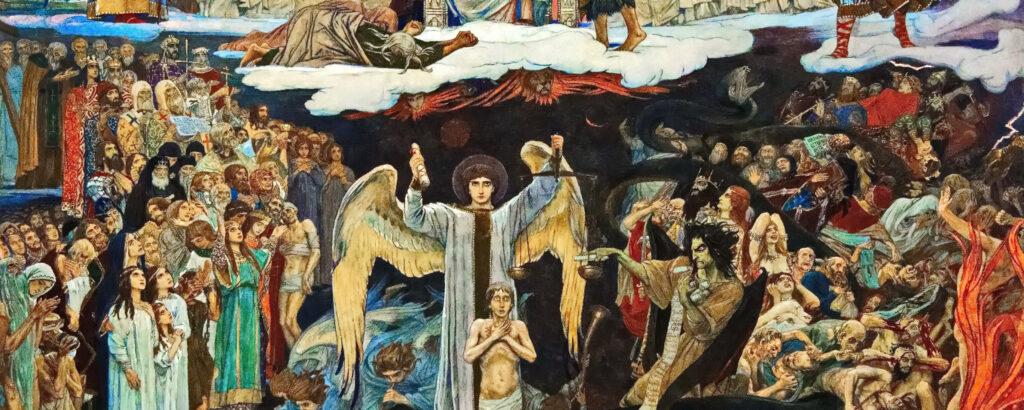 Сочинение по картине В. М. Васнецова «Страшный Суд»