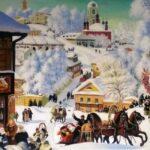 Картина «Масленица» (1919 г) Б. Кустодиева