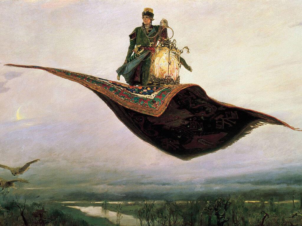 Сочинение по картине В. М. Васнецова «Ковер-самолет»