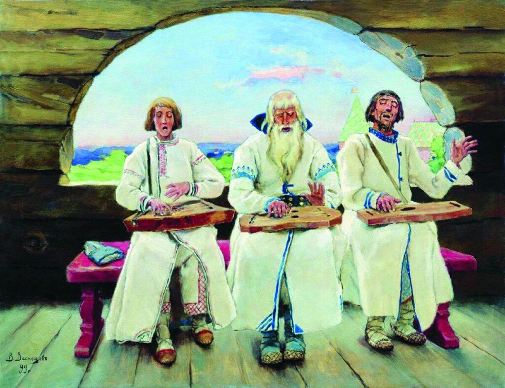«Гусляры» В. Васнецова