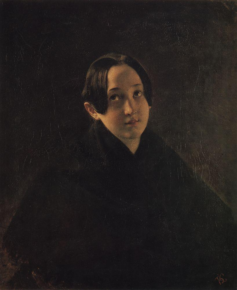 Портрет Е. И. Дурновой