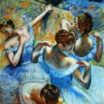 Картина Дега Э. «Голубые танцовщицы»