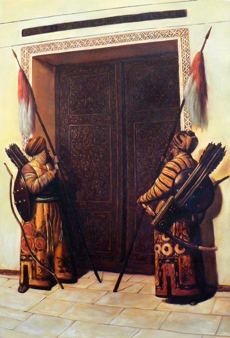 Картина Двери Тимура (Тамерлана). Описание