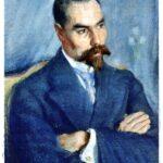 Портрет поэта Валерия Брюсова
