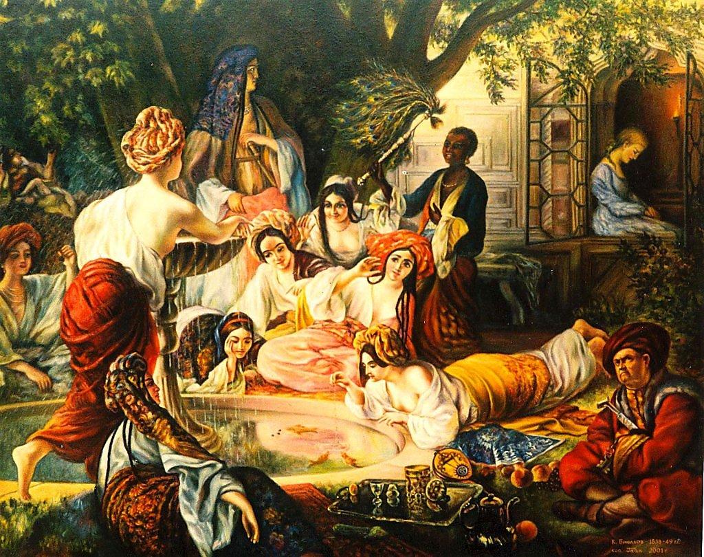 Сочинение по картине К. П. Брюллова «Бахчисарайский фонтан»