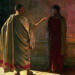 Николай Ге. Картина Христос и Пилат