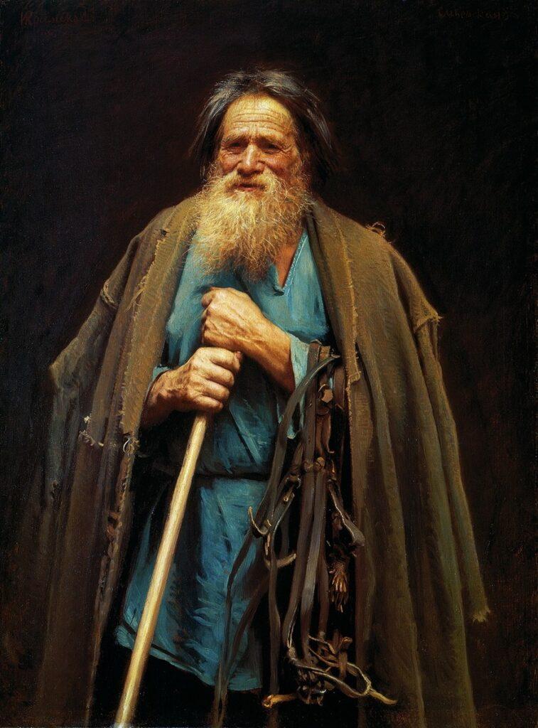 Сочинение по картине И. Н. Крамского «Крестьянин с уздечкой»