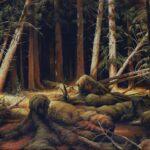 Иван Шишкин. Картина Бурелом (Вологодский лес)