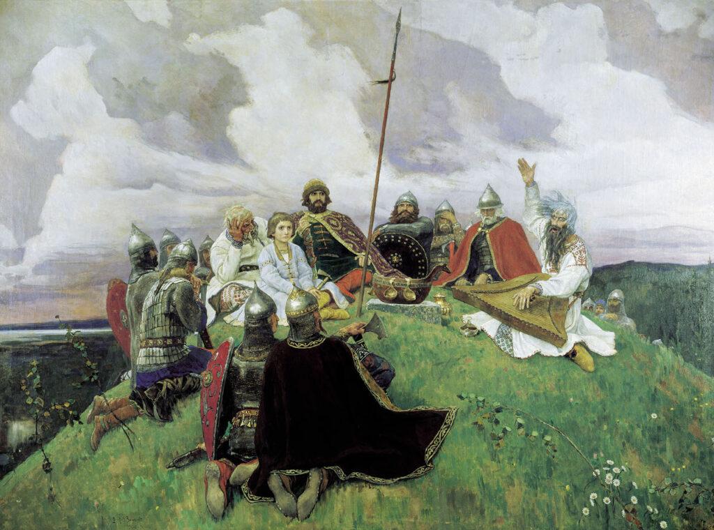 В.М. Васнецова «Баян»