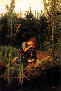 «Аленушка» В. Васнецова