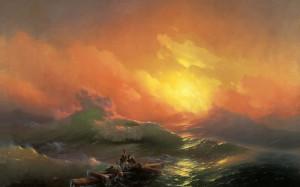 «Девятый вал» И.Айвазовского