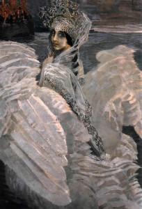 «Царевна-Лебедь» М.Врубеля