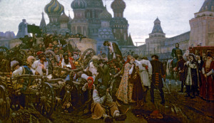 «Утро стрелецкой казни» В. Сурикова