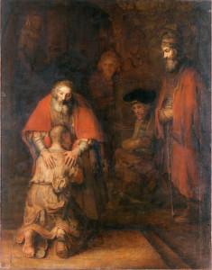 «Возвращение блудного сына» Рембрандта