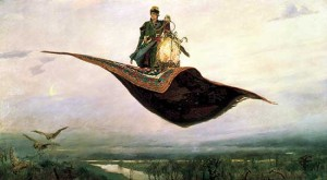 Ковер-самолёт. Сочинение по картине Васнецова