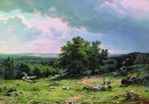 Любовь к природе в произведениях Шишкина