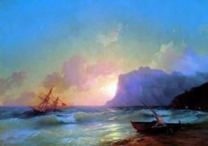 Море. Коктебельская бухта
