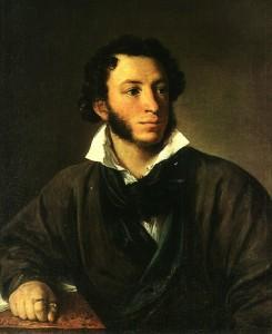 Описание картины «Пушкин» В.Тропинина