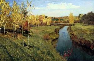 Осень, какой она должна быть. Сочинение по картине Левитана