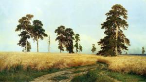 Рожь. Сочинение по картине И.Шишкина