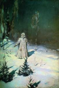 Снегурочка. Сочинение по картине В.Васнецова