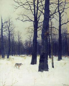 Сочинение по картине И. Левитана «Зимой в лесу»