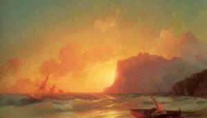 Сочинение по картине И.К. Айвазовского «Море. Коктебельская бухта»