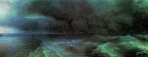 Сочинение по картине И.К. Айвазовского «От штиля к урагану»