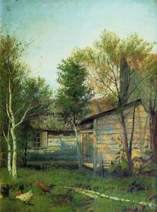 Сочинение по картине Левитана «Солнечный день. Весна»