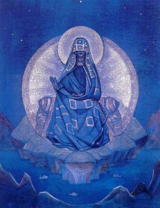 Сочинение по картине Николая Рериха «Матерь Мира»