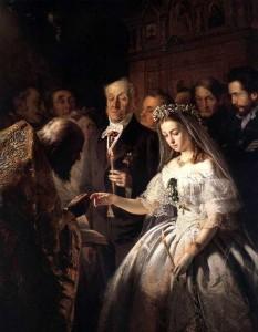 Сочинение по картине Пукирева «Неравный брак»