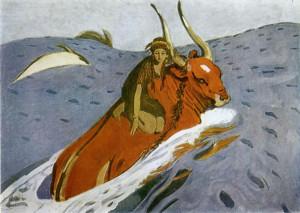 В.Серова «Похищение Европы»