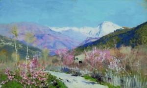 Исаак Левитан. Весна в Италии.