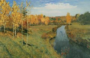 Исаак Левитан. Золотая осень.