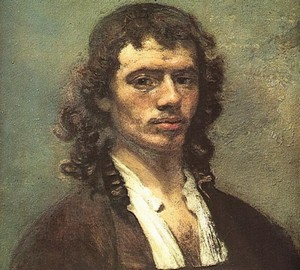 Автопортрет, Карел Фабрициус, 1645